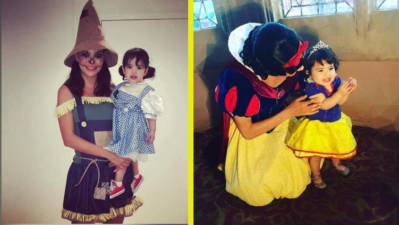 Madre e hija: Revive los mejores disfraces de Ana Patricia y Giulietta