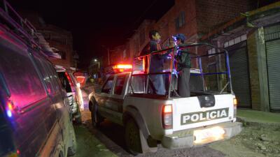 Patrulla de la Policía boliviana. (Imagen de Archivo).
