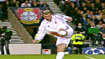 UCL | ¡Inmortal! El espléndido gol de volea de Zinedine Zidane