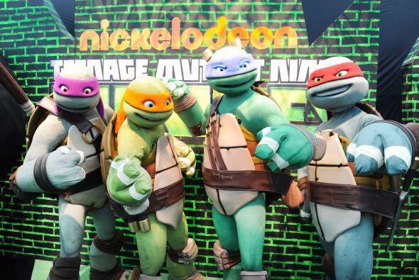 ¿Quién no recuerda a las tortugas 'ninja'?, un hito en la infancia de mu...