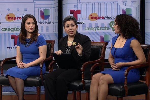 Las panelistas hicieron hincapié en la necesidad que existe de que las p...