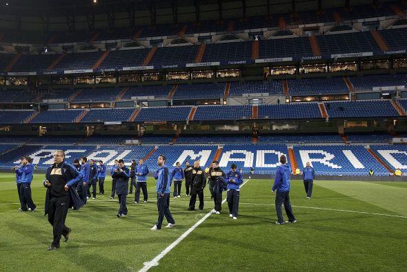 El Real Madrid recibía en su casa, el Santiago Bernabéu, a...