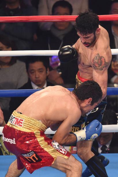 Jorge Linares logró combinar la mayoría de sus golpes.