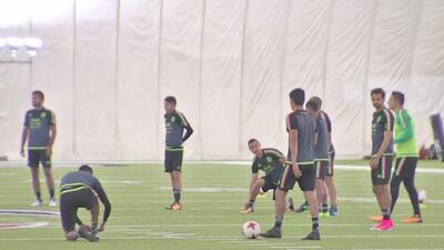 Selección de México prepara su duelo contra Ghana en el Estadio NRG
