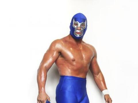 Blue Demon Jr, luchador profesional mexicano, nació en la Ciudad...
