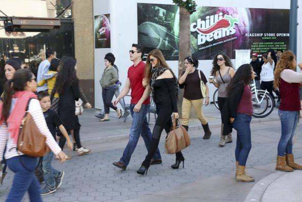 Ana se mudó a Los Ángeles desde 2012.