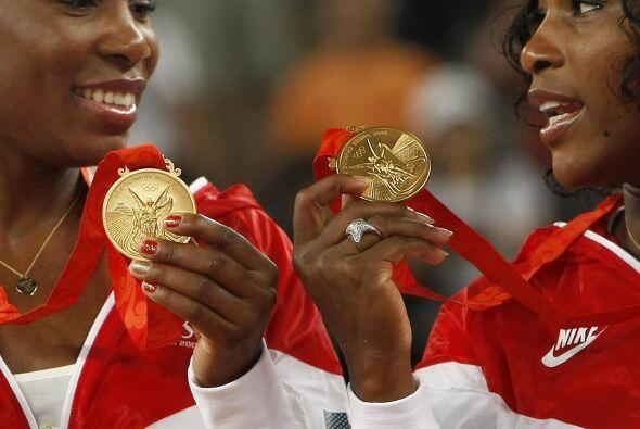 Venus ha dado a su país, EU, tres medallas olímpicas (individual y doble...