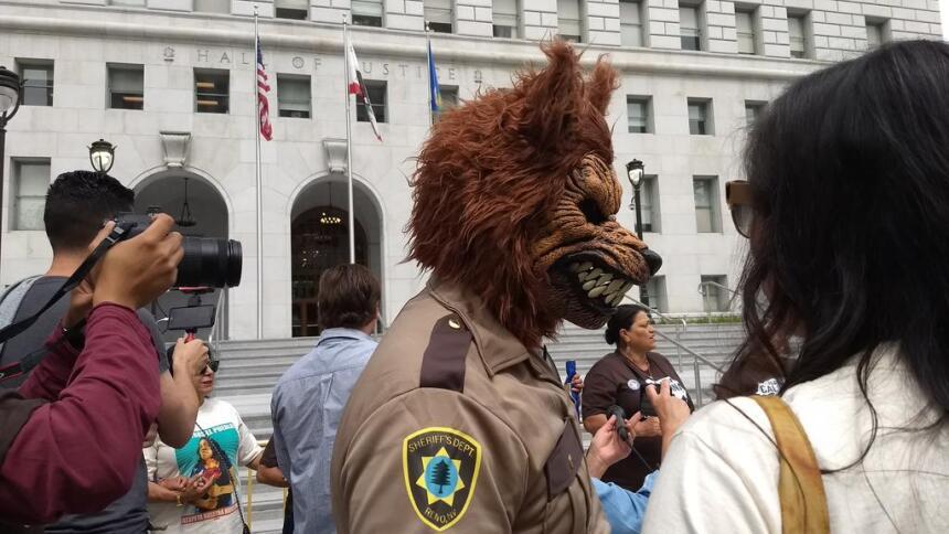 Protesta vs Sheriff Los Ángeles