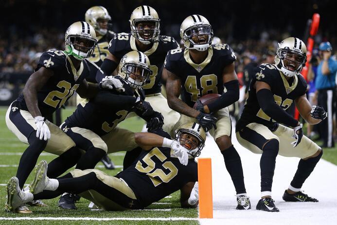 En fotos: ¡Todo listo para los playoffs de la NFL! saints.jpg