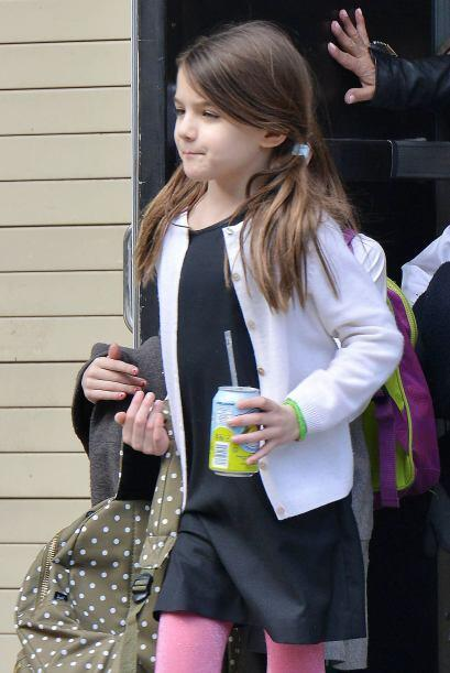 Tenemos que reconocer que la hija de Cruise se está poniendo bellísima.