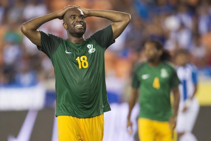 Sloan Privat (Guyana Francesa): un gol.