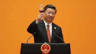El presidente chino, Xi Jinping, en la inauguración de la cumbre sobre l...