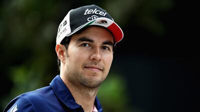 Sergio ha conquistado siete podios en su carrera.