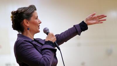 La alcaldesa de Oakland, Libby Schaaf, ha sido una acérrima defen...