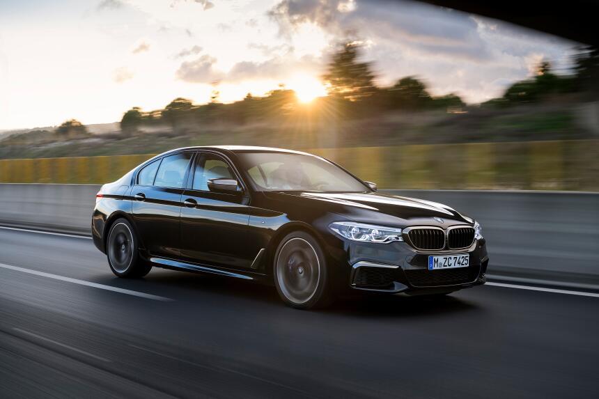 BMW M550i xDrive 2018