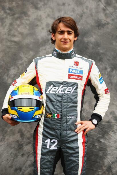 Esteban Gutiérrez, México, Sauber-Ferrari.