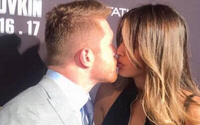 En video: El beso que confirma que el 'Canelo' y Shannon De Lima están j...