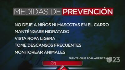 Medidas de prevención a seguir durante esta temporada de calor