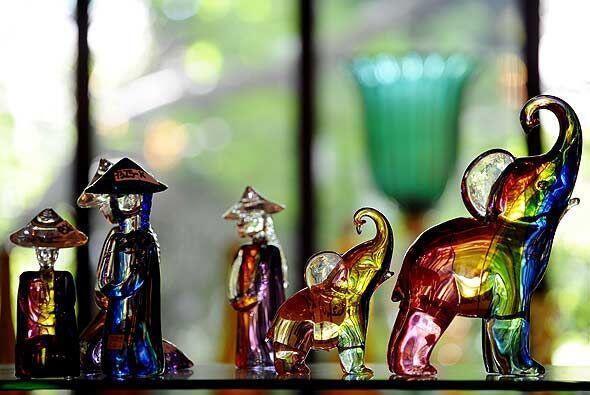 Esta vidrieria de Venecia crea al gusto y medida del cliente, que con fr...