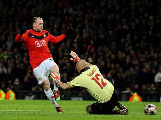 Wayne Rooney sigue su racha particular le endosó dos goles al cuadro mil...