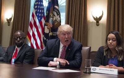 Presidente Trump pide al Congreso que apruebe dos fuertes medidas contra...