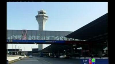 Dos aviones chocaron en el aeropuerto O´Hare de Chicago, Illinois.