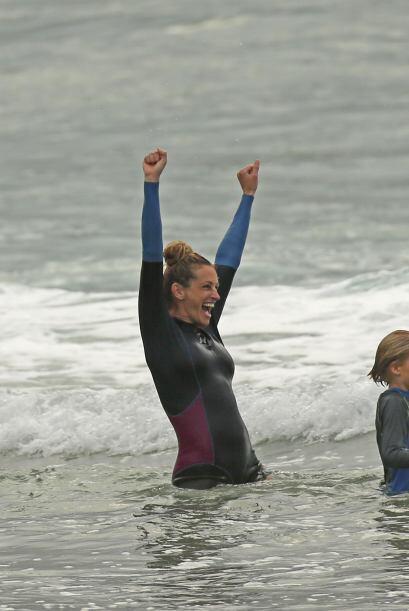 Al contrario, la actriz decepcionó en la playa.Mira aquí los videos más...