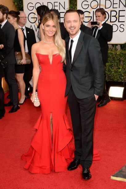 Seguro que el esposo de Lauren Parsekian, el también actor Aaron Paul, d...