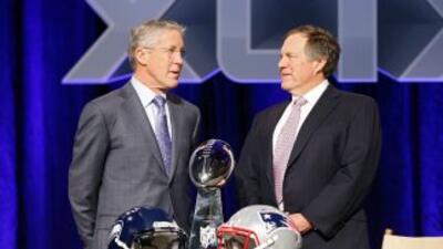 El duelo de estrategas crucial en el Super Bowl XLIX (AP-NFL).
