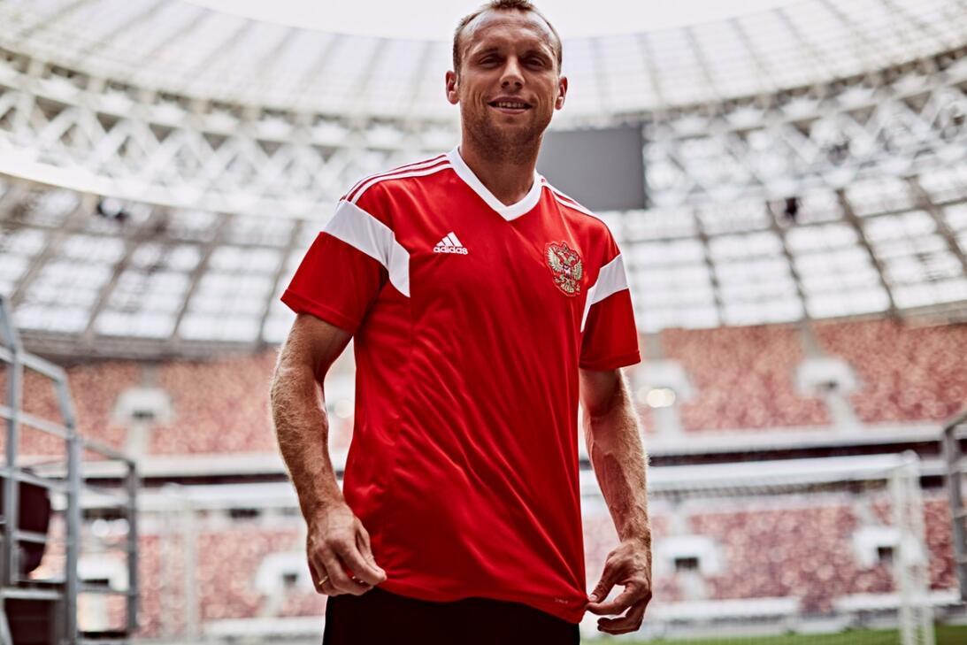 Adidas presentó los nuevos uniformes para el Mundial de Rusia 2018 http-...