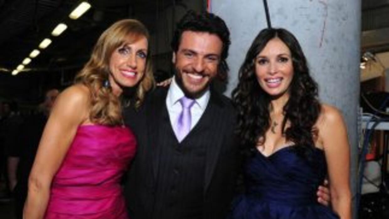 Lili Estefan, Rodrigo Lombardo y Giselle Blondet.