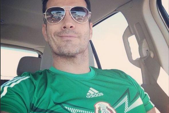 David Cepeda  Qué mejor manera de expresar el amor por México que portan...