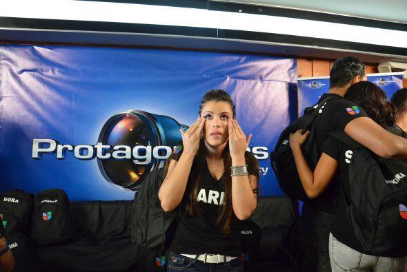 Las lágrimas se apoderaron de esta jovencita que audicionó...