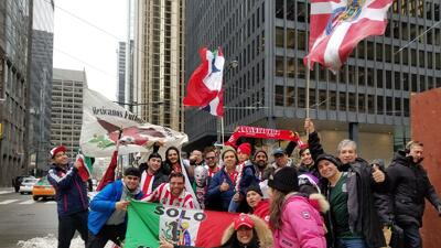 Toronto es un Rebaño Sagrado: aficionados de Chivas prenden la fiesta antes de la final