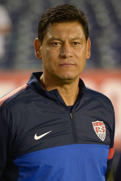 El mexicoamericano Martin Vásquez jugó y fungió como Técnico Asistente d...
