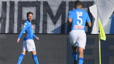 Napoli se apodera del liderato de la Serie A tras vencer al Atalanta