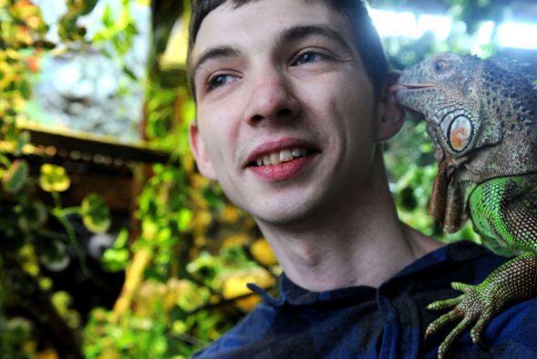 Lo que más ama de los reptiles es lo diferentes que son del resto de las...