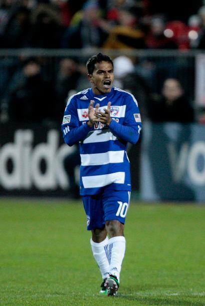 Ferreira hizo un bonito pase para el gol del empate cuando restaban cinc...