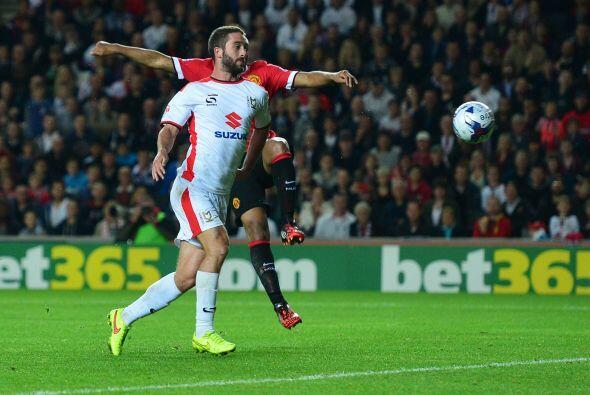 El segundo gol llegaría ya avanzado el complemento por conducto de Grigg...