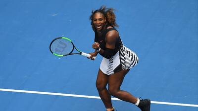 Serena Williams superó a Belinda Bencic en el Australian Open