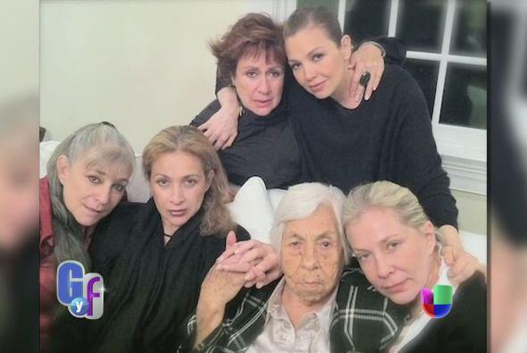 Todas las hermanas se juntaron y se reconciliaron cuando falleció doña Y...