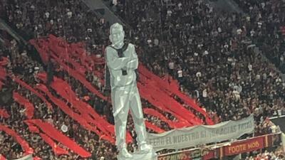 Con este espectacular mosaico la afición de Atlanta United FC comienza a despedirse de Gerardo Martino