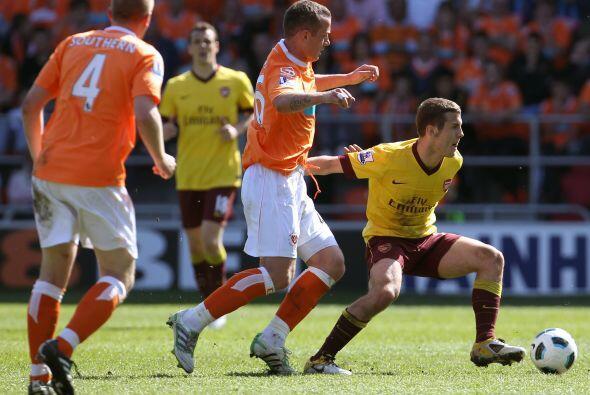 El acoso de los 'Gunners' a la portería rival no cesó pero al tanto del...