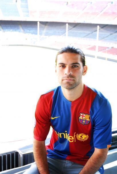 Antes de partir a Francia con su equipo Mónaco, el futbolista Rafael Már...