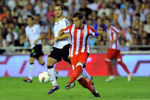 Atlético de Madrid y Valencia se enfrentan en la ida de las semifinales...
