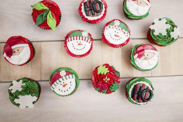 Cupcakes navideños. Las fiestas también son el momento propicio para un...