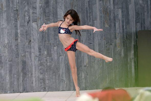 Disfrutaron de la piscina de un hotel. Más videos de Chismes aquí.