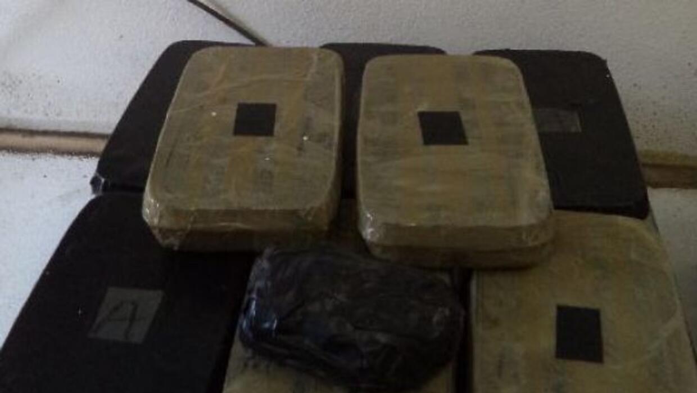 Esta semana los narcotraficantes estuvieron muy activos en la frontera d...