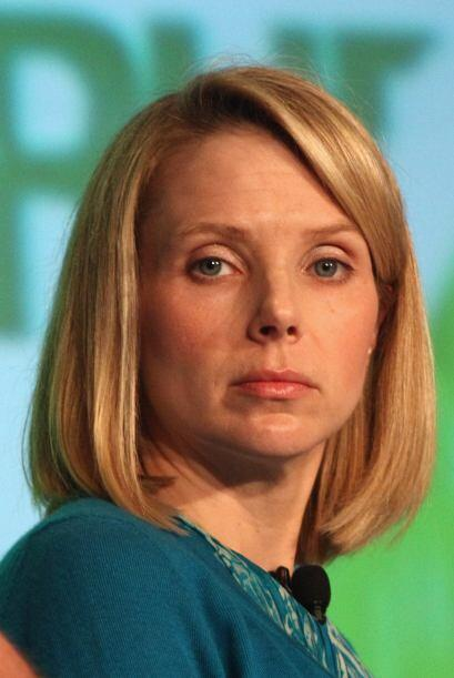 8. Marissa Mayer. La Presidenta y CEO de Yahoo, de solo 38 años, logró h...