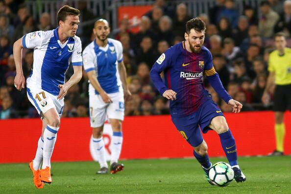 En fotos: Barcelona de récord con triplete de Messi 943127330.jpg